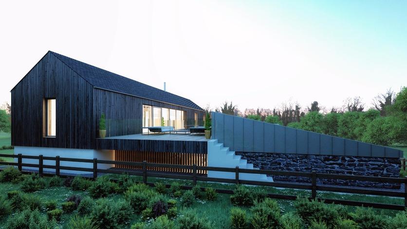 Long Barn near Strangford Lough by BGA Architects
