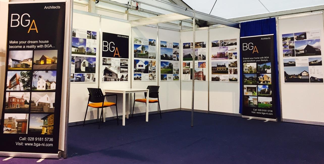 Exhibition Stand Design Northern Ireland : Bga architects ltd latest news and journal